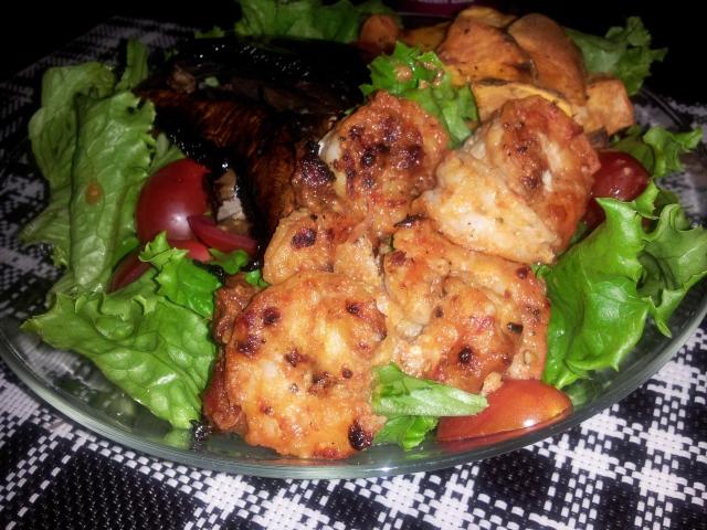 Sundried Tomato Shrimp Salad