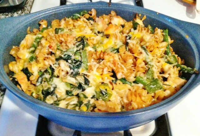 Karen's Cheesy Chicken Florentine