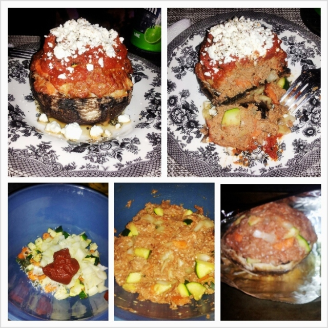 Italian Stuffed Portabella Mushrooms