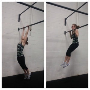 Jess ditched the pull-up band!